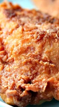 Popeye's Fried Chicken Recipe - When I lived in Atlanta, there was a Popeye's Chicken on the corner near my sub-division. I tried it once or twice and I have to admit, for fast food, it was pretty good! I might have to try this Popeyes fried chicken recipe copycat, for old time's sake!