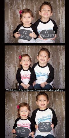 Announcing  third child! -