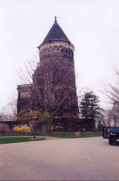 President Garfield burial place ...very ornate.