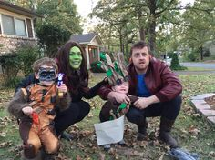 Guardians of the Galaxy family costume