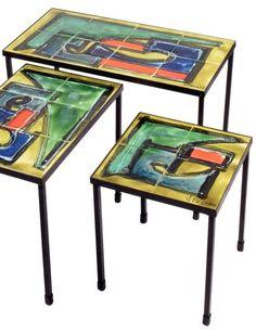Juliette Belarti Tables Gigogne 1960 S Tables Gigognes Ameublement Mobilier