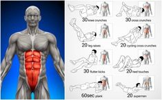 Fastest Six Pack Abs Exercise Routines