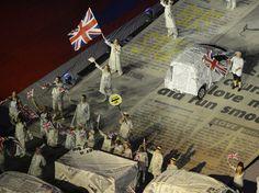 The Closing Ceremonies of London 2012 XXX Olympics. August 12, 2012