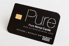 Making a Distinctive Metal VIP or Membership Cards #puremetalcards #metalcard…