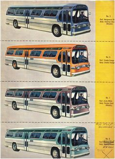 1000 Images About Gm New Look Bus On Pinterest Buses
