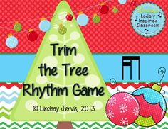 Trim the Tree Rhythm Game: tiri-ti