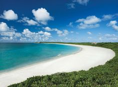An older photo of one of Anguilla's most magnificent beaches, Meads Bay