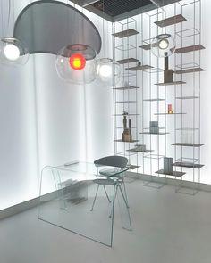 "the desk FOLIO (design Yabu Pushelberg) in the luminous ""DAS HAUS 2018"" conceived by Lucie Koldova and hosted by the IMM Köln 2018 fair.   January 2018   #luciekoldova #dashaus2018 #immkoln2018 #glasitalia #yabupushelberg"