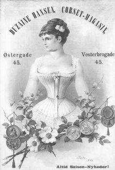 Victorian Corset ad ~ (pág. 216) | Aprender manualidades es facilisimo.com