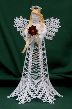 Crochet Pattern Central Angels : Ange, Crochet libre and Crochet on Pinterest