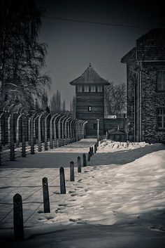 Auschwitz Concentration Camp, Poland-----I really want to go look at this, but Will refuses because he's Jewish and it makes him sad :(
