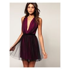Party Dress in Mesh / ASOS Collection