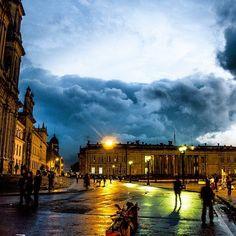 Plaza de Bolivar, Bogota Colombia by John Drissen
