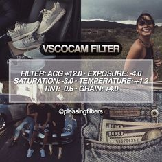 vsco filters warm toned , low exposure filter
