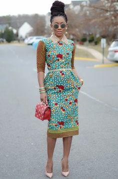 Inspiration: 10 idées de looks de Karen, Living my bliss instyle - Pagnifik African Inspired Fashion, African Print Fashion, Africa Fashion, Fashion Prints, African Print Dresses, African Fashion Dresses, African Dress, African Prints, African Outfits