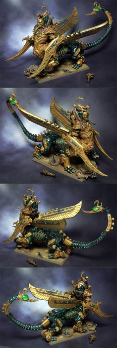 The Internet's largest gallery of painted miniatures, with a large repository of how-to articles on miniature painting Warhammer Tomb Kings, Warhammer Fantasy, Warhammer 40k, Fantasy Battle, Fantasy Art, Vampires, 40k Armies, Thousand Sons, Fantasy Miniatures