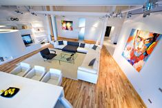Loft Apartment by Grosu Art Studio 01