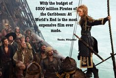 Oh, pirates!   Don't forget to subscribe! - http://www.movietrends.net  #movie #fact #piratesofthecaribbean