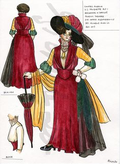 University Of Victoria, Costume Design, Madness, Theatre, Costumes, Apparel Design, Dress Up Clothes, Theater, Costume
