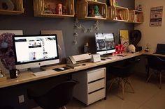 Eu tenho um home office, mas a correria me fez desapegar dele e passar o dia inteiro na loja. Por isso, decidi fazer uma sala de criação pra juntar com a galera criativa da HC Store e desenvolver nossas ideias. No video acima eu mostrei como ficou tudo e agora vou dar umas dicas pra […]