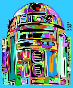 R2-D2 | By: Takun Williams, via ComicsAlliance