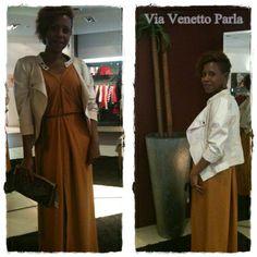 #Vestido de #HossIntropia, #Cazadora de #AnnaMora https://www.facebook.com/ViaVenettoParla?ref=stream&hc_location=timeline