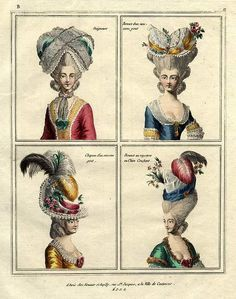 18th century hair - Google Search