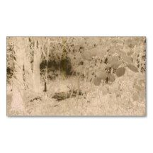 Forest, Grunge, Trees,Night, spooky,business card Pack Of Standard Business Cards