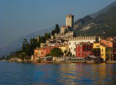 Malcesine, Lago Di Garda..