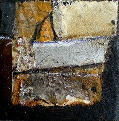 mini abstract 10x10 cm mixed media www.gerardbrokart.nl