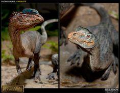 Dinosauria Dilophosaurus Maquette by Sideshow Collectibles | Sideshow Collectibles