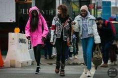 STYLE DU MONDE / New York Fashion Week Fall 2017 Street Style: Models  #Fashion, #FashionBlog, #FashionBlogger, #Ootd, #OutfitOfTheDay, #StreetStyle, #Style