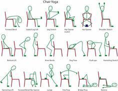 These chair yoga routines are the best for quick relief from stress and tension at work. Over time, these chair yoga poses can also help correct your posture. So pull up a chair and try out these great chair yoga routines! Kundalini Yoga, Yoga Meditation, Yoga Flow, Yoga For All, How To Do Yoga, Chair Exercises, Yoga Exercises, Easy Stretches, Senior Fitness