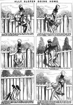 Charles Henry Ross, Marie Duval – Ally Sloper going home (1875)