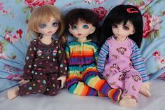 Its a PJ Day! The girls had some new PJ's arrive from Spampy this morning so they are having a lazy pajama day today =) #fairyland #littlefee #spampy