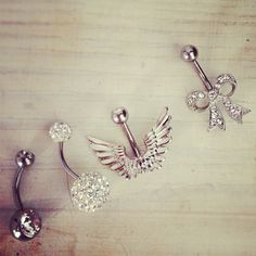 Loveee you Megan.  These would be perfect for my little sister! #bellyrings #piercedup #fabulous