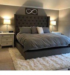 Small Master Bedroom, Farmhouse Master Bedroom, Master Bedroom Design, Master Bedrooms, Bedroom Designs, Modern Bedrooms, Bedroom Rustic, Beautiful Bedrooms, Room Ideas Bedroom