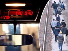 MIGRANTS who have smuggled themselves into Britain from Calais are being sent to London in £150 taxis billed to the taxpayer, it has been revealed.