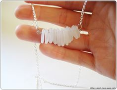 How to make a necklace from sea glass
