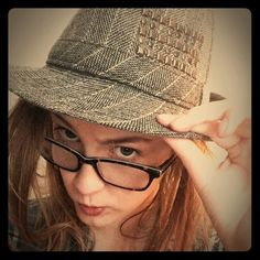 Grey Fedora Grey Striped Fedora with a section of bling on the right side. Super adorable! Great condition, never worn! 100% Polyester  Make me an offer!  Accessories Hats