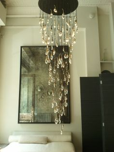 "OCHRE Seed Cloud chandelier, Love that this has that ""oh wow that's so cool"" factor without being over the top."