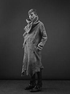 new yesterday - Visions of the Future: sekigan: Tsolo Munkh F/W 2014 Menswear   Menswear   Pinterest