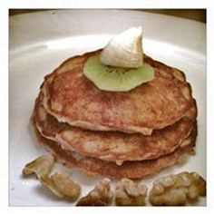 Deliciously Healthy Paleo Pancakes With Banana and Walnuts Allrecipes.com
