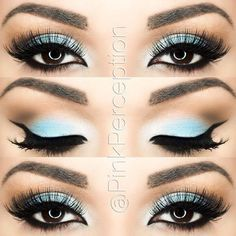 Pretty winter eye look!