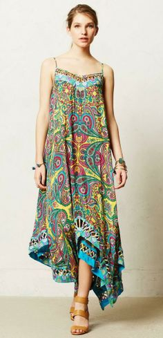 Kaleidoscope Mosaic Maxi Dress