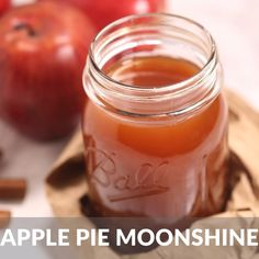 This is the best Apple Pie Moonshine recipe. Made with apple cider and Everclear grain alcohol, it packs a punch but still it's smooth and bursting with apple cinnamon flavor. Moonshine Recipes Homemade, Homemade Liquor, Homemade Apple Pies, Apple Pie Recipes, Apple Pie Juice Recipe, Flavored Moonshine Recipes, Homemade Alcohol, Apple Pie Moonshine, Peach Moonshine