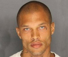 'Hot Convict' Jeremy Meeks Released From Prison.: 'Hot Convict' Jeremy Meeks Released From Prison Funny Guy Memes, Funny Quotes, Memes Humor, Funny Pics, Transformation Physique, Magazine Mode, Hey Girl, Mug Shots, Man Humor