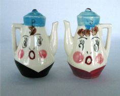 Teapot Salt & Pepper