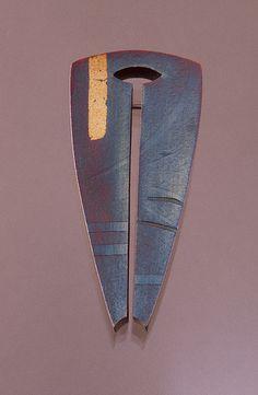 Split Shield series brooch |  Tom McCarthy