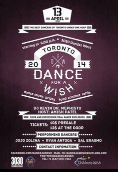 Dance 4 A Wish  - TorontoDance.com